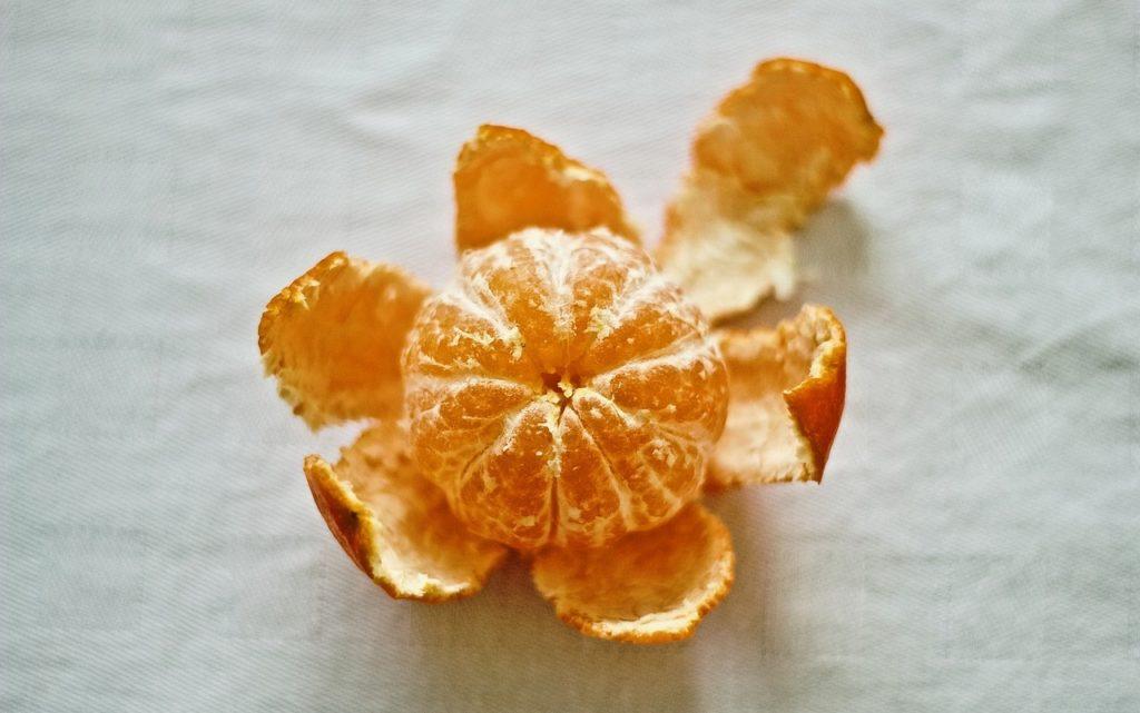 Mandarinen sind eine typische kleine Zwischenmahlzeit.