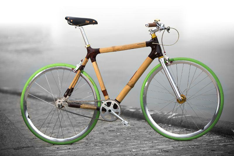 Bambus Fahrräder: bambooride
