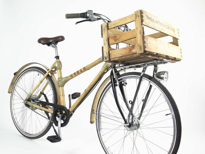 Bambus Fahrräder: Urbam Bamboo Bike