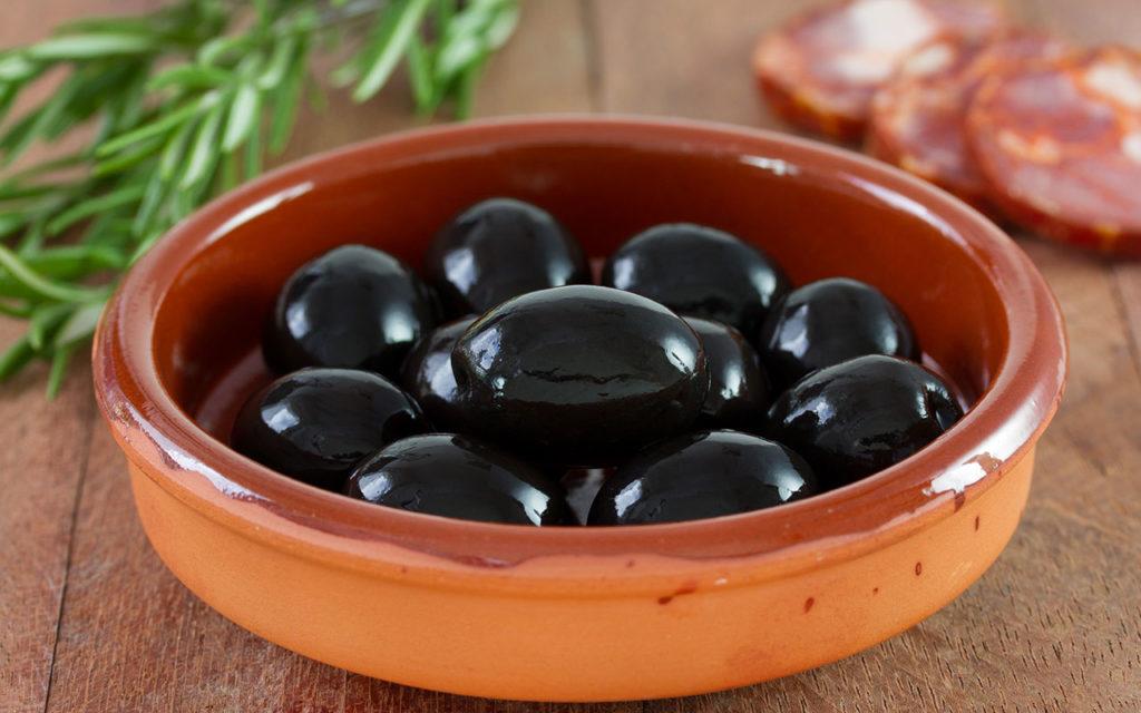 Black Food: Schwarze Olive