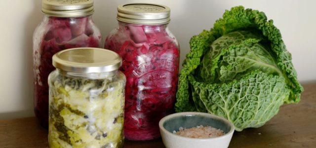 Fermentieren Lebensmittel länger haltbar machen