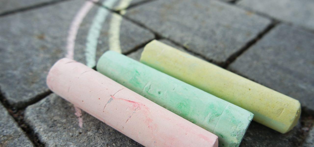Kreide Selber Machen Straßenmalfarben Aus 3 Zutaten Utopiade