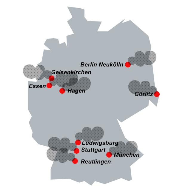 feinstaubbelastung deutschland karte Feinstaub und Stickstoffdioxid: In diesen Städten ist die Luft  feinstaubbelastung deutschland karte