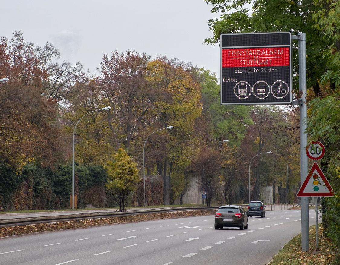 Luftqualität: Feinstaub-Problem in Stuttgart