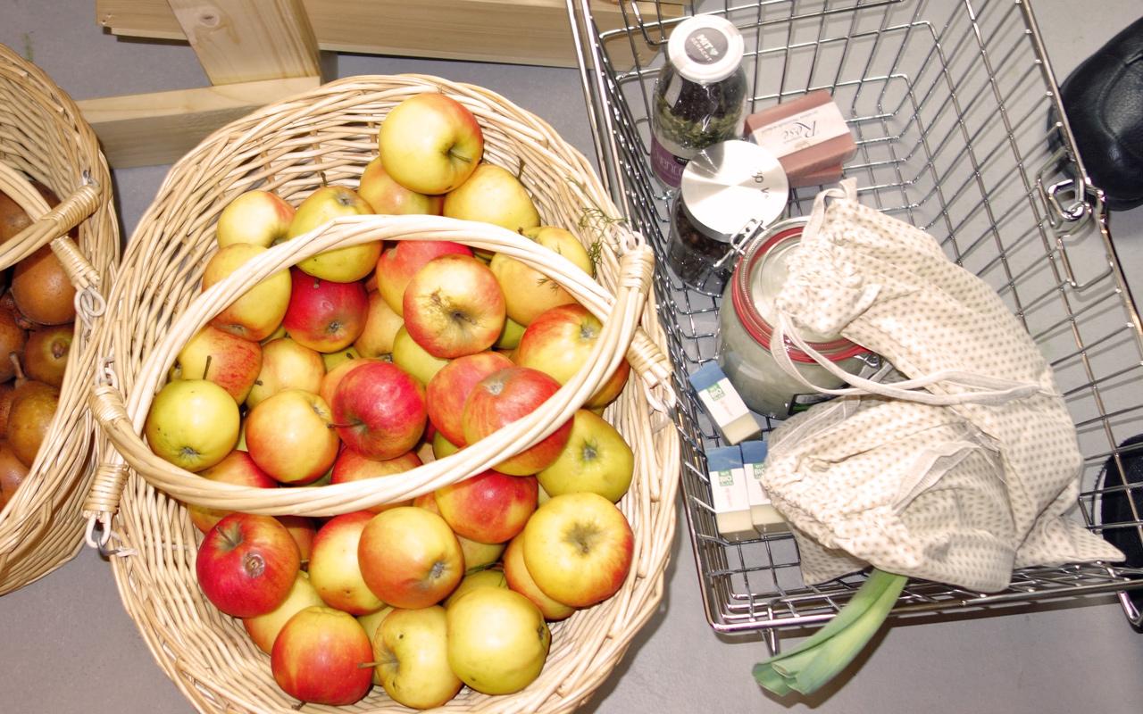 Unverpackt einkaufen in München: Ohne