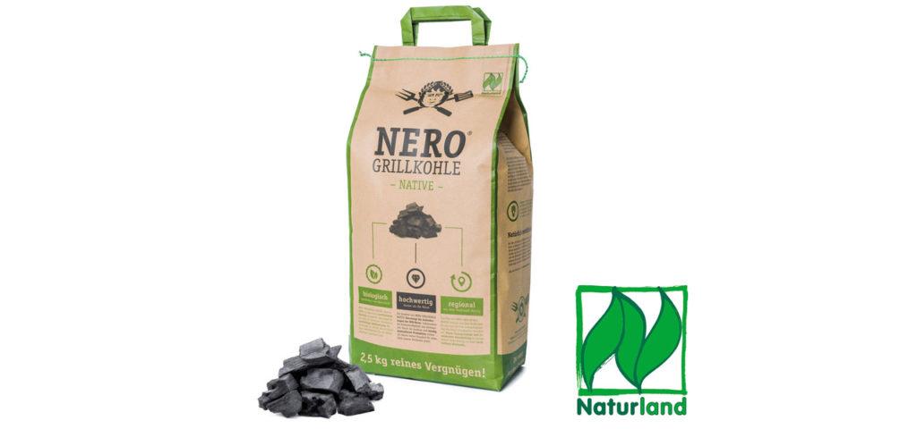 Nero Grillkohle Native ist Naturland-zertifiziert