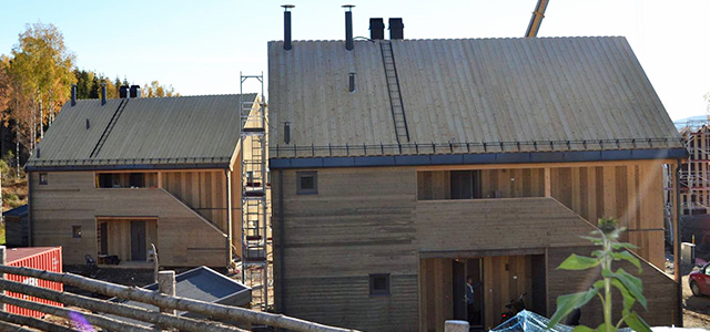 Ökodorf Hurdal Økogrend in Norwegen