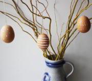 Ostereier dekorieren für Minimalisten