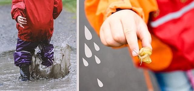 Nachhaltige Regenkleidung