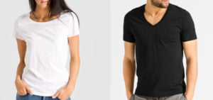 Faire basic T-Shirts und Tops