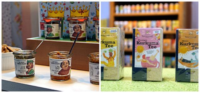 BioWest Messe Kurkuma Tee und Aufstriche