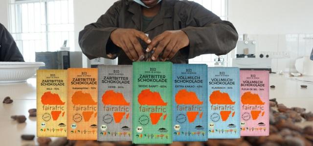 fairafric nachhaltige faire Schokolade