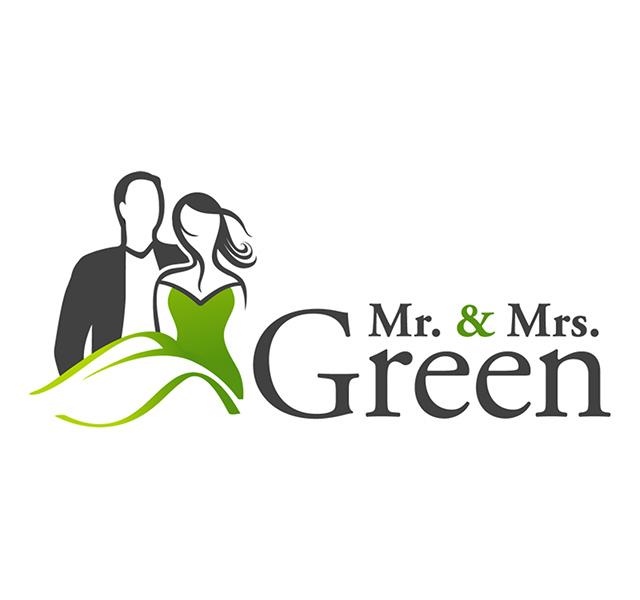 Mr. & Mrs. Green Logo