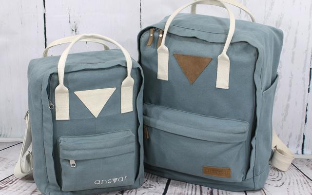 Recycling-Mode von Melawear: Rucksack Ansvar