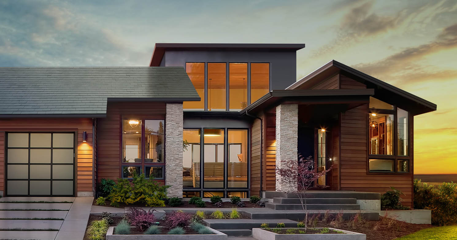 solar roof tesla beginnt mit serienproduktion. Black Bedroom Furniture Sets. Home Design Ideas
