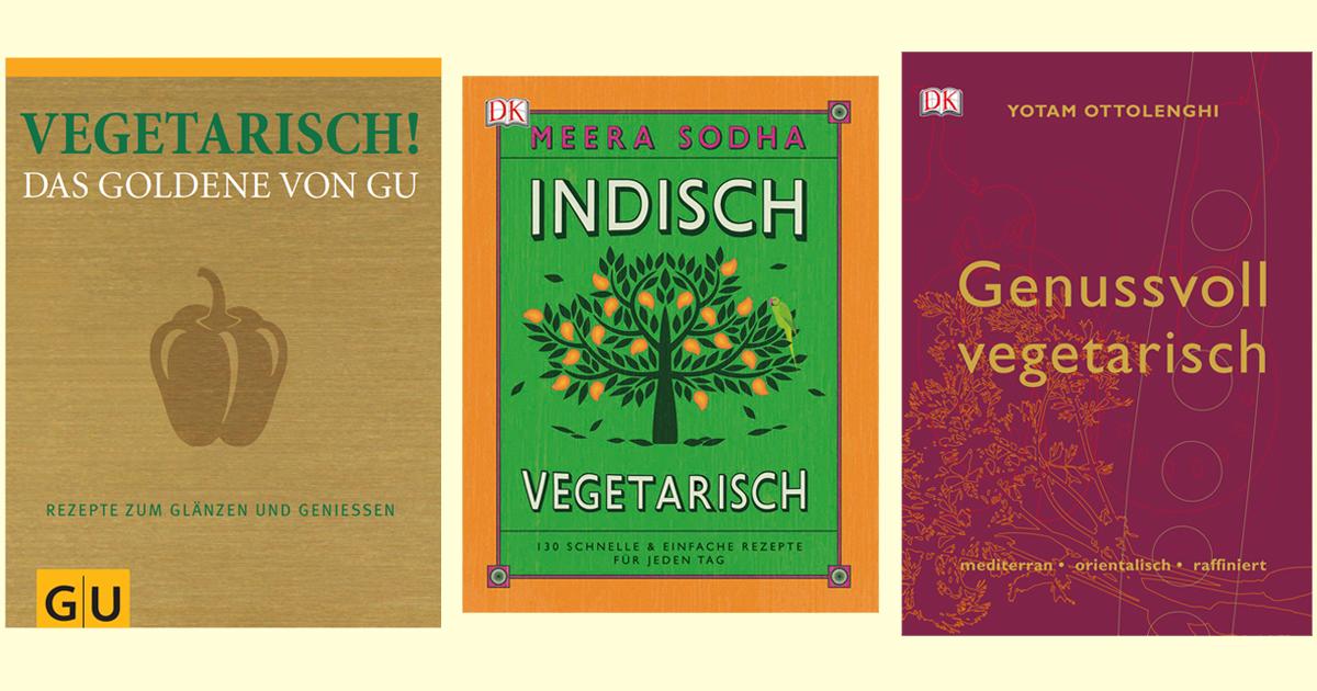 3 vegetarische Kochbücher, die jeder kennen sollte - Utopia.de