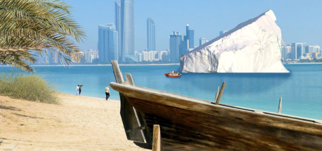 Eisberg Arabische Emirate