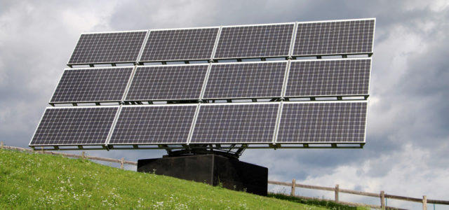 Erneurbare Energien: Solarmpdule