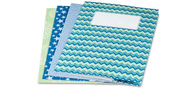 Heftumschläge plastikfrei Recycling Papier minouki