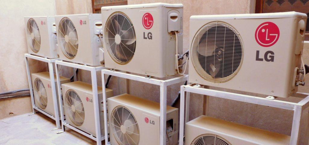Klimaanlagen: erzeugen mehr Wärme als Kälte
