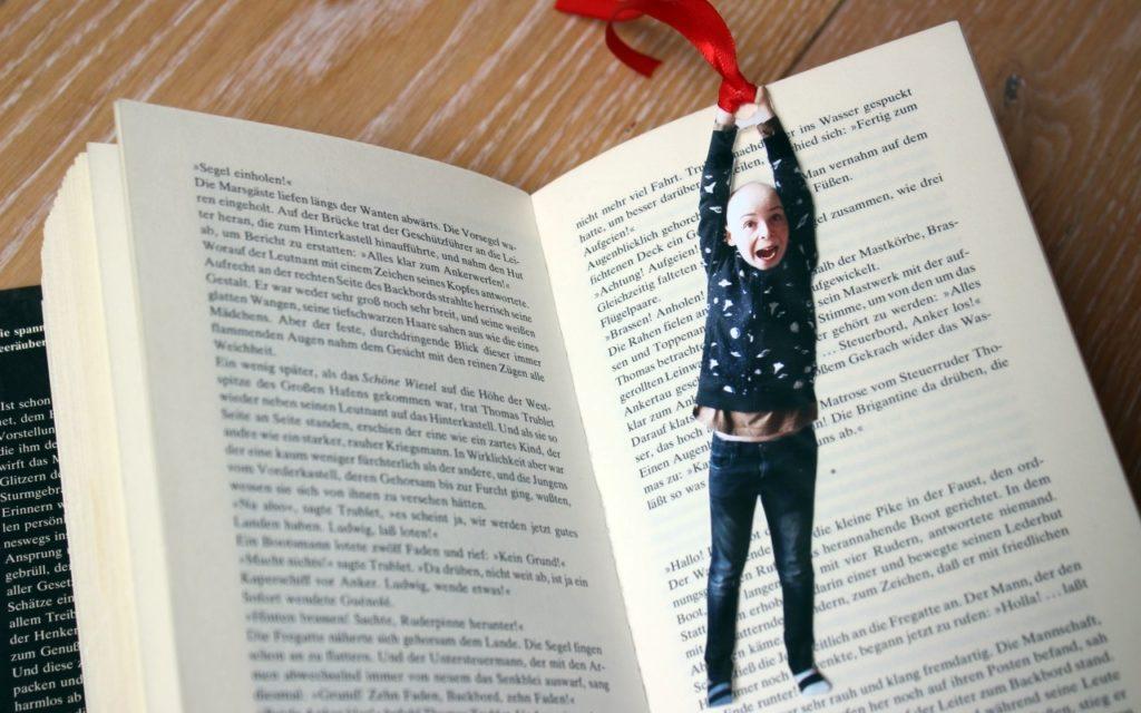 Muttertagsgeschenk Lesezeichen