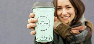 Coffee-to-go-becher Recup Hamburg München Mehrwegpfandbechersystem