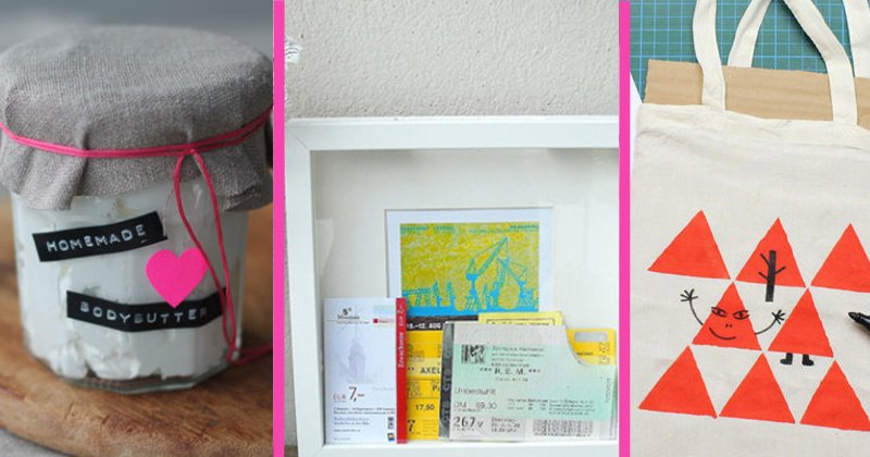 DIY-Geschenke selber machen ღ über 20 kreative Geschenk-Ideen ...