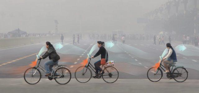 smog free bike rooseegaarde luftverschmutzung