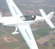 Elektromotor Flugzeug Siemens