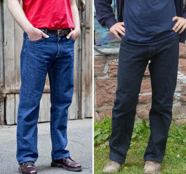 Bio-Jeans von Cordhosenkampagne