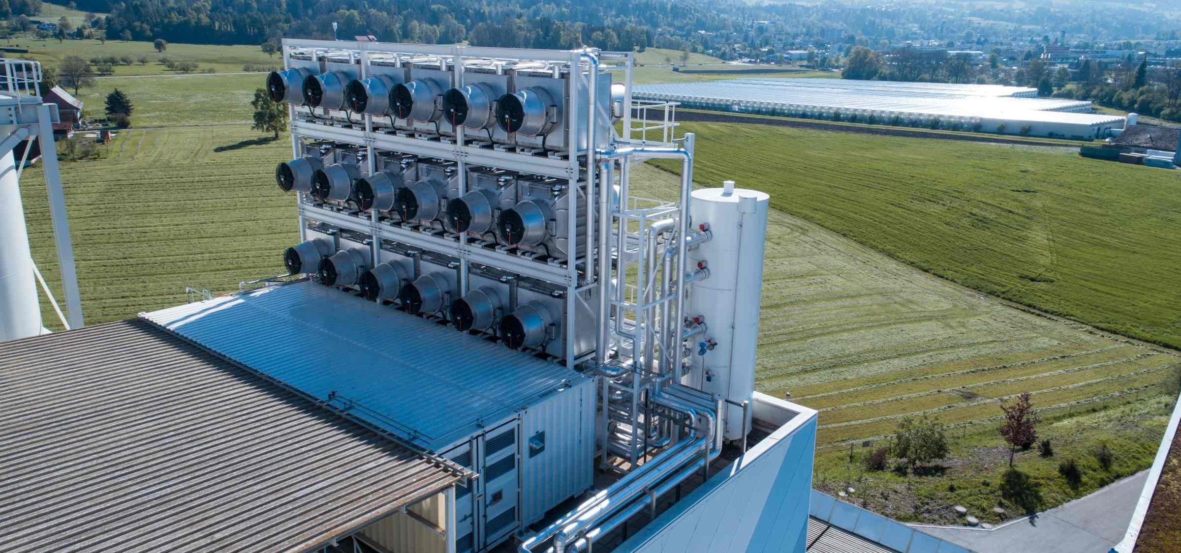 Klimawandel CO2-Filter Luft
