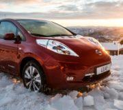 Nissan Leaf (E-Auto)