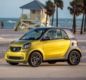 Elektroauto Smart ed (electric drive)