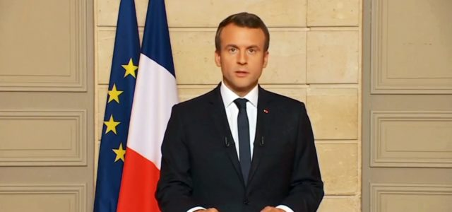 Der französische Präsident Emmanuel Macron antwortet Donald Trump: Make our planet great again.