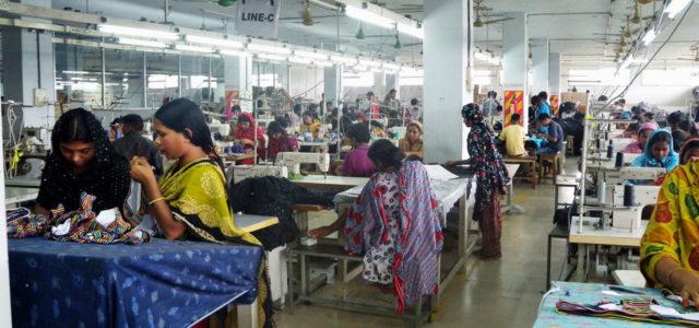 Bangladesch Textilfabrik