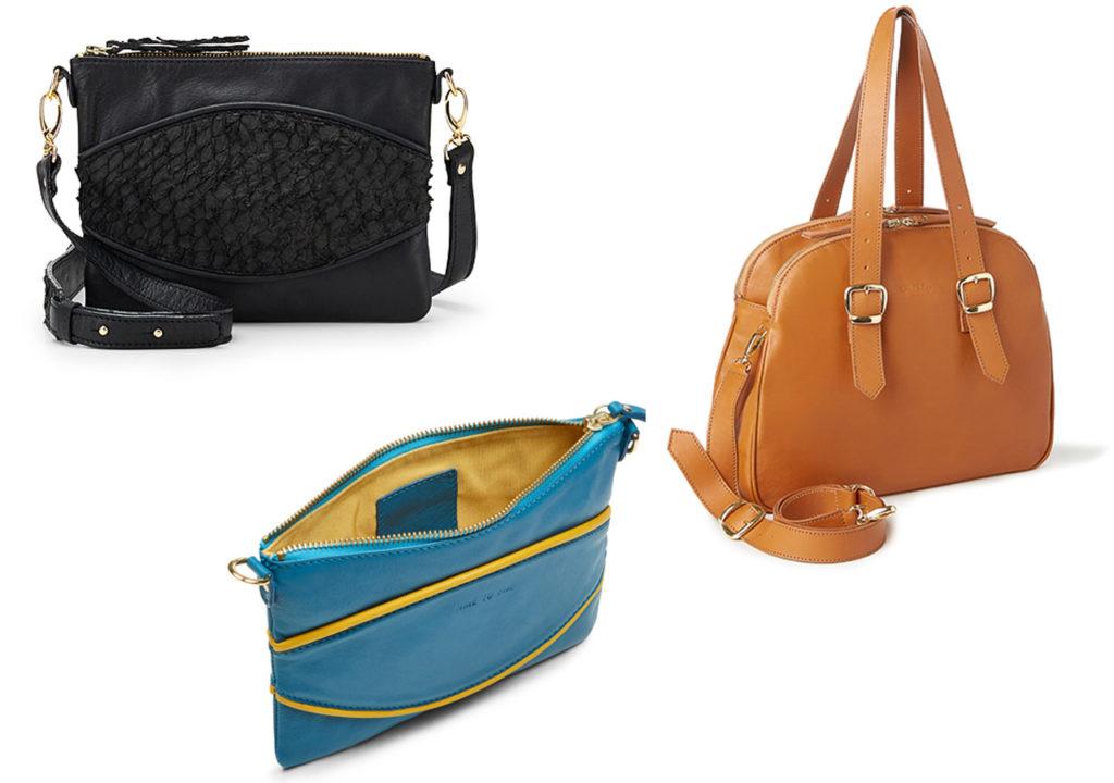 Faire Handtaschen aus Leder von Nine to Five