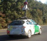 Google Street View Luftverschmutzung