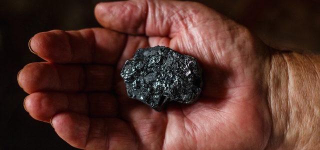 Kohle Mineralien Seltene Erden