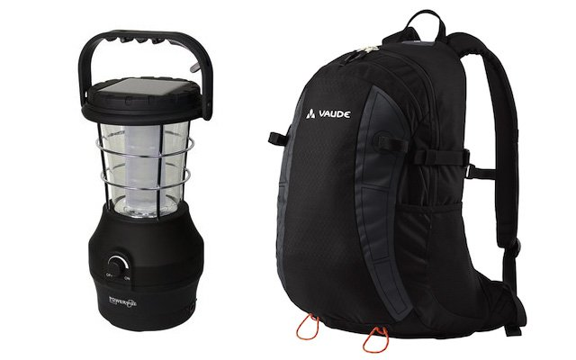 Outdoor-Zubehör: PowerPlus-Lampe Hippo, Rucksack von Vaude