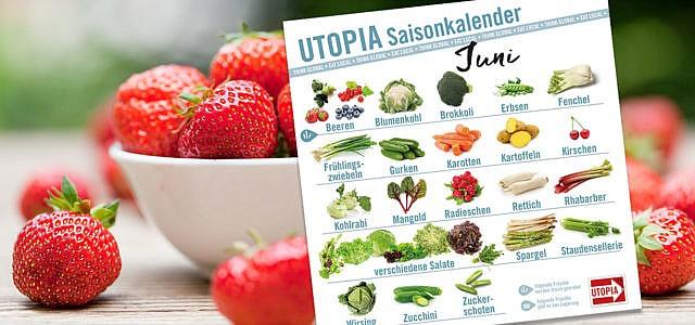Saisonkalender Juni