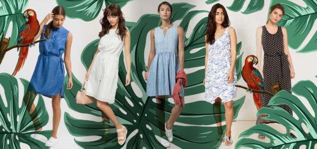 Faire, vegane, nachhaltige Sommerkleider von People Tree