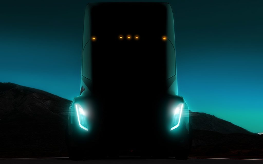 Elektrotruck: der Tesla Semi soll LKW elektrisieren