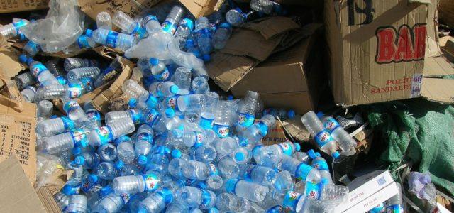 Plastikmüll Plastikflaschen
