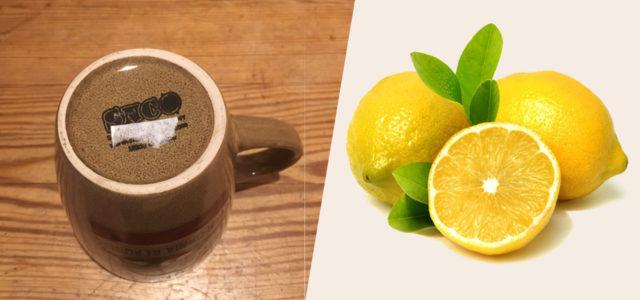 Aufkleber entfernen funktioniert z.B. mit Zitrone