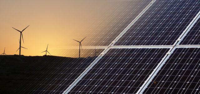 Erneuerbare Energien Solar Windenergie