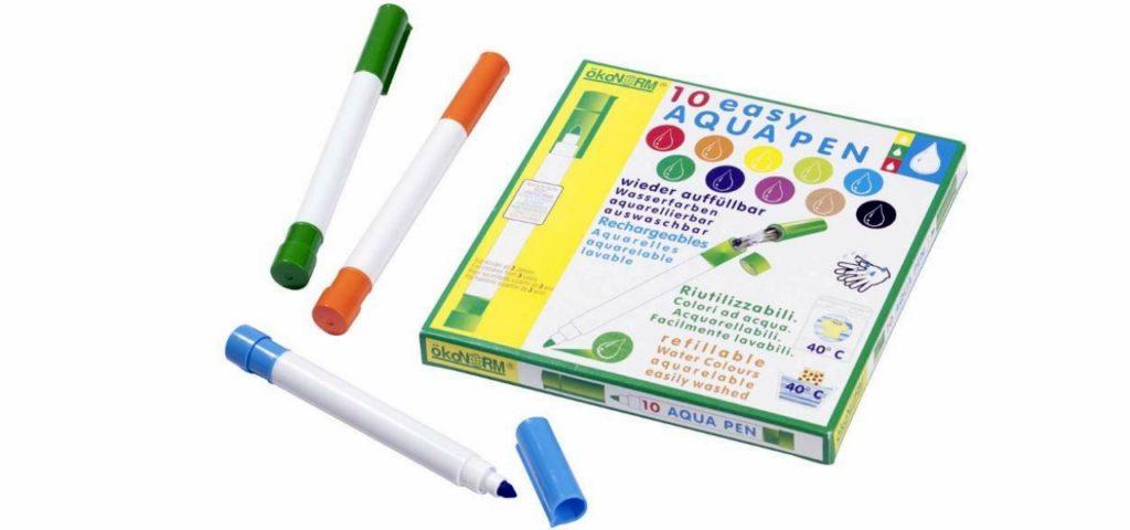 Ökonorm Filzstifte: easy Aqua Pen, mit Leitungswasser auffüllbar