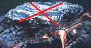 Grillen ohne Alufolie