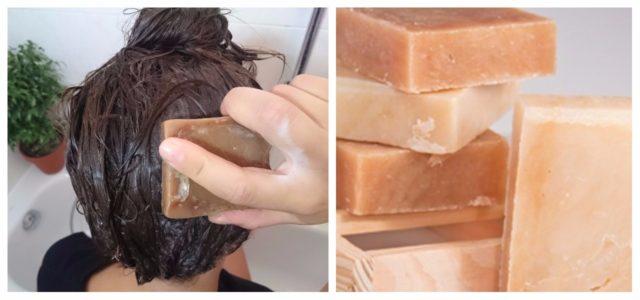 Haarseife Haarewaschen