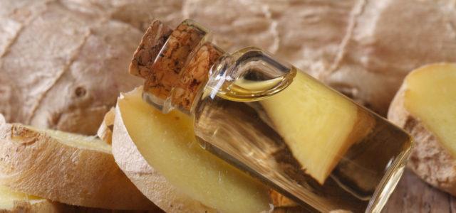 Ingweröl hilft gegen viele Beschwerden.