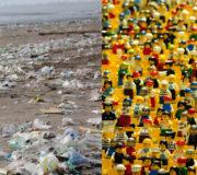 Lego Strand Plastik Müll England
